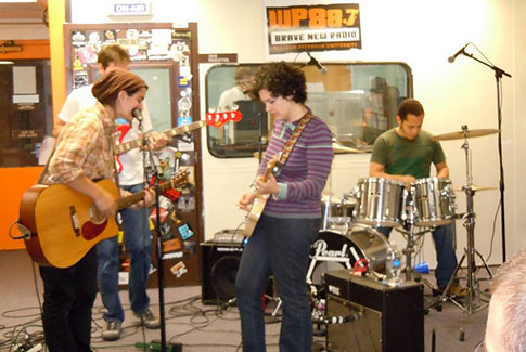 Bern & the Brights at College Radio Day