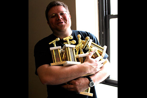 Manager Rob Quicke with IBS Awards